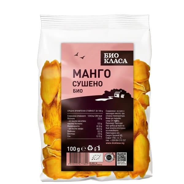 Манго сушено 100g