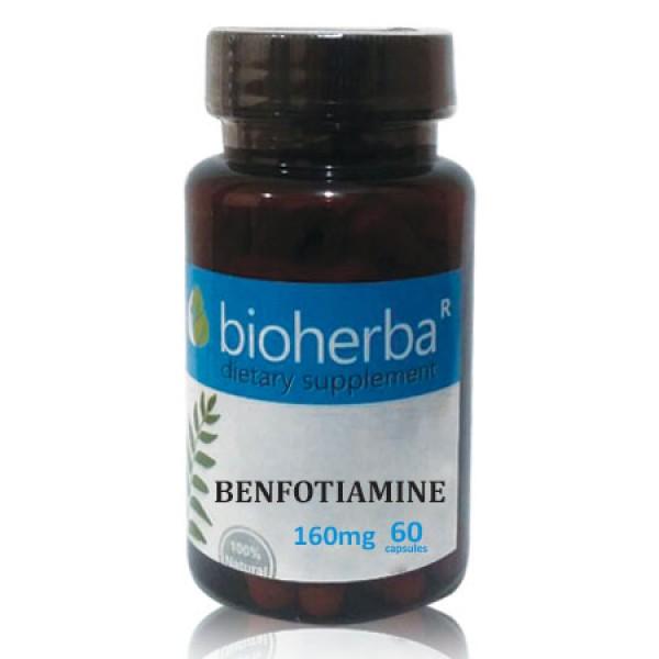 Бенфотиамин на капсули 160 мг. 60 капсули