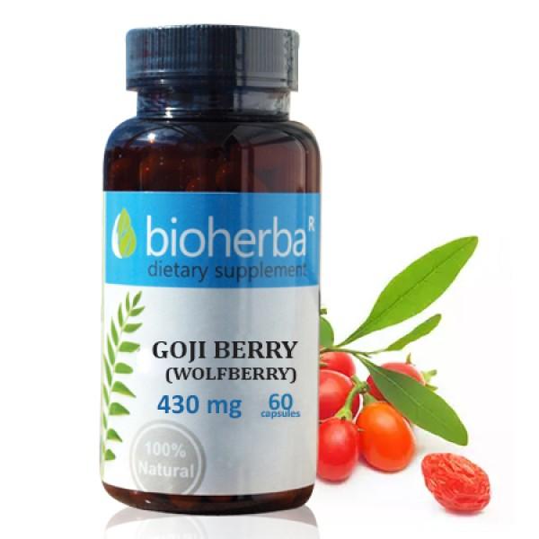 Годжи бери (Лиций) на капсули 430 мг. 60 капсули