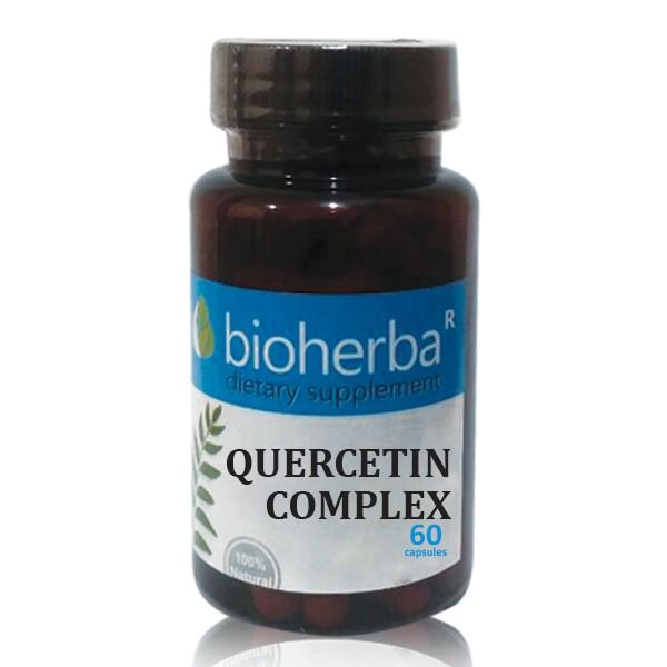 Кверцетин комплекс на капсули 250 мг. 60 капсули