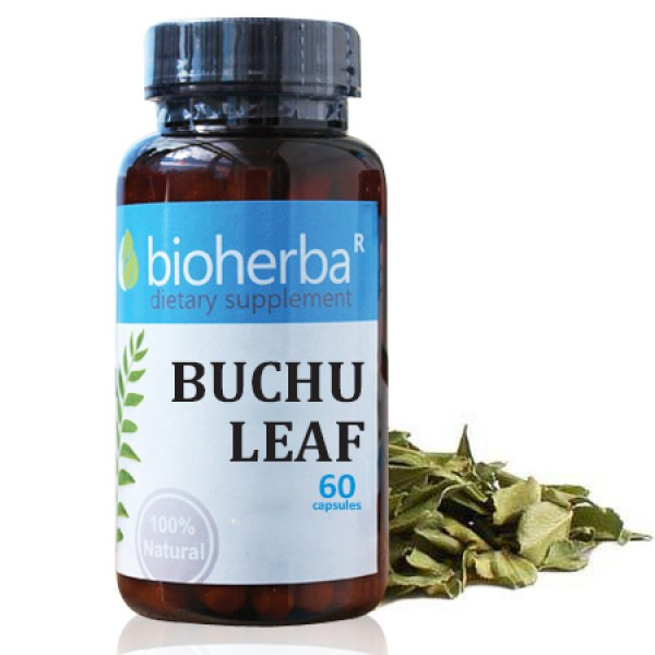 Листо от Бучу 100 мг.60 капсули