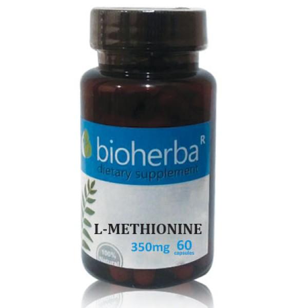 Л-метионин на капсули 350 мг. 60 капсули