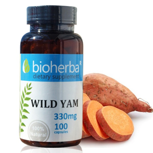 Ям (Див сладък картоф) 330 мг. 100 капсули