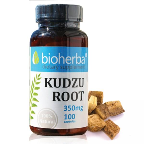 Кудзу (корен) на капсули 350 мг. 100 капсули