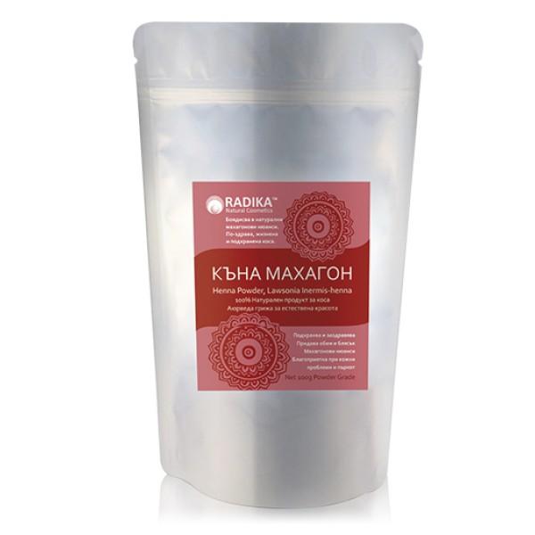 Къна махагон (чиста) на прах за коса , 100 г