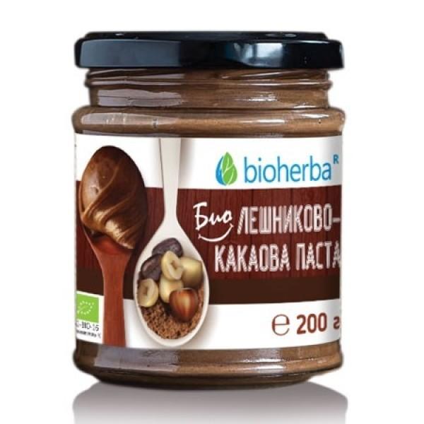 Био лешниково-какаова паста