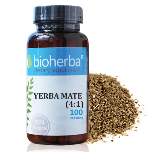 Йерба Мате на капсули 500 мг. 100 капсули
