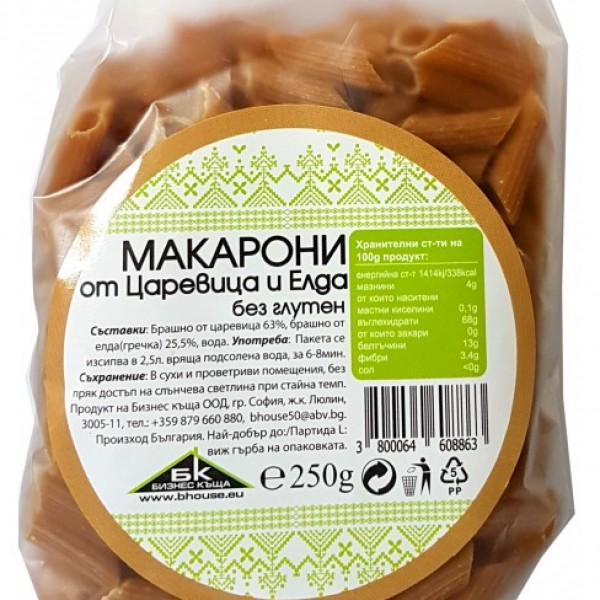 Макарони от царевица и елда без глутен 250 гр.