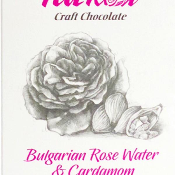 Ръчен шоколад с българска роза и кардамон