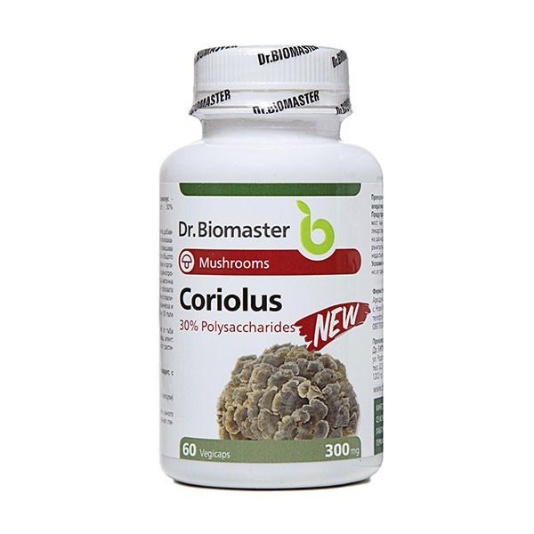 Кориолус 30% полизахариди – 60 капс