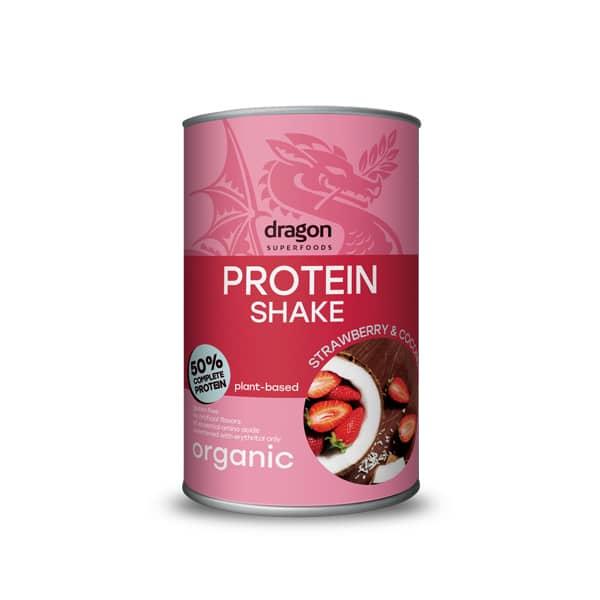 Протеинов шейк с ягода и кокос 450g