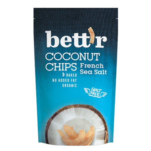 Кокосов чипс с френска морска сол 70g