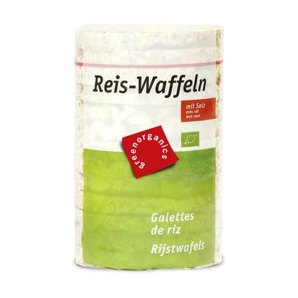 Вафли оризови с морска сол 100g