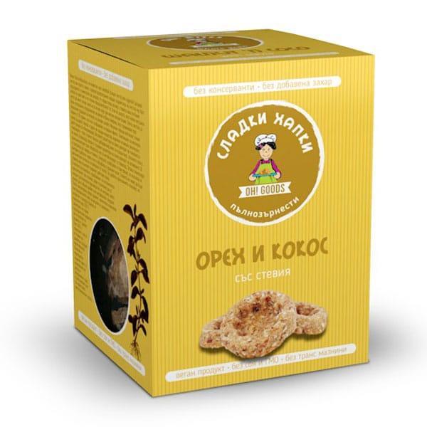 Сладки орех и кокос със стевия 85g