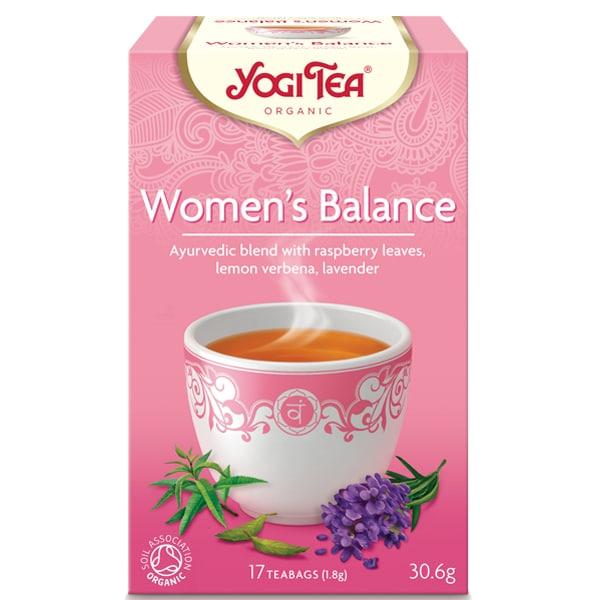 Йоги чай Женски баланс 17 пак. 30,6g