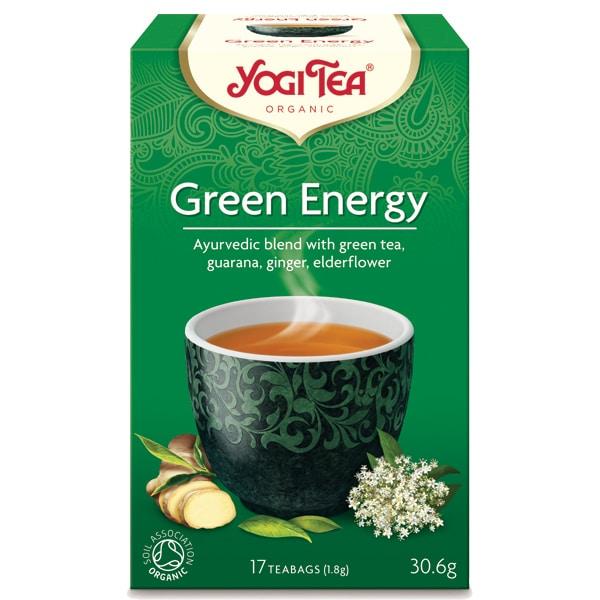 Йоги чай Зелена енергия 17 пак. 30,6g