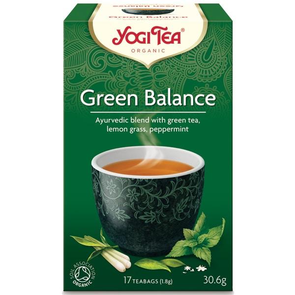 Йоги чай Зелен баланс 17 пак. 30,6g