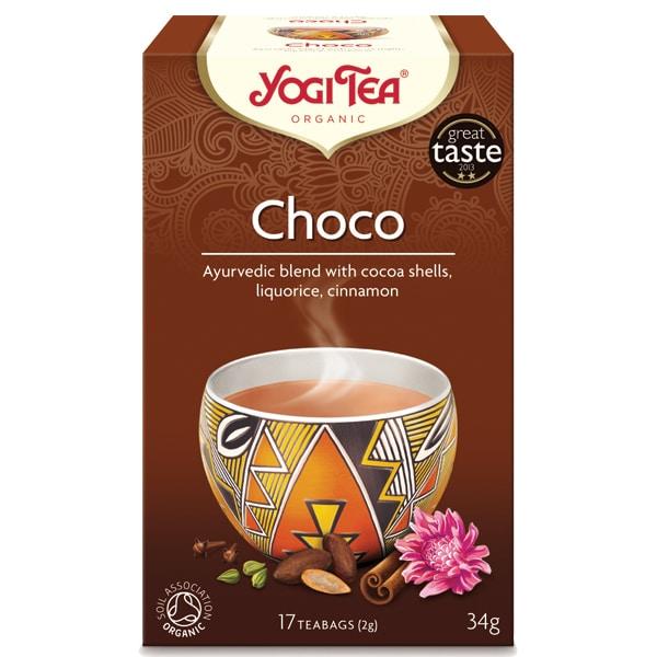 Йоги чай Шоко 17 пак. 34g