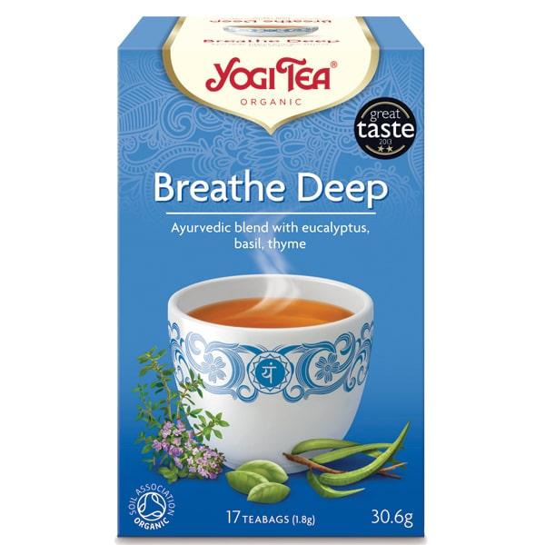 Йоги чай за дишането 17 пак. 30,6g