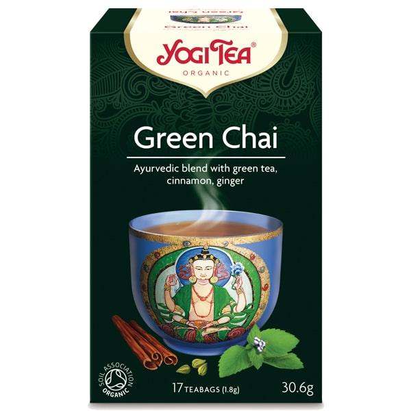 Йоги чай green chai 17 пак 30,6g