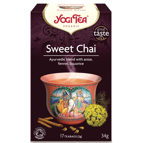 Йоги чай sweet chai 17 пак 30,6g