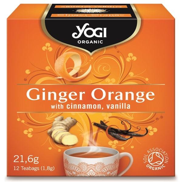Чай джинджифил и портокал 12 пак. 21,6g