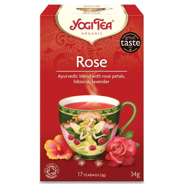 Йоги чай Роза 17 пак. 34g