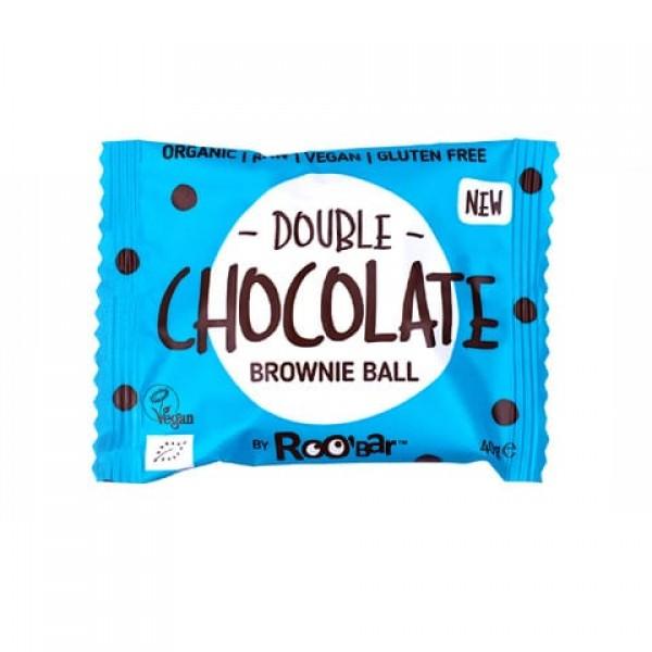 Суров десерт Brownie Ball двоен шоколад 40g