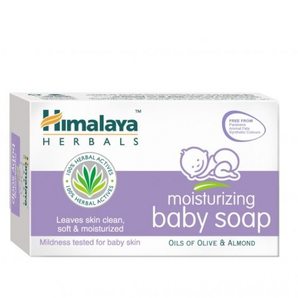 ХИМАЛАЯ Хидратиращ бебешки сапун 70 г