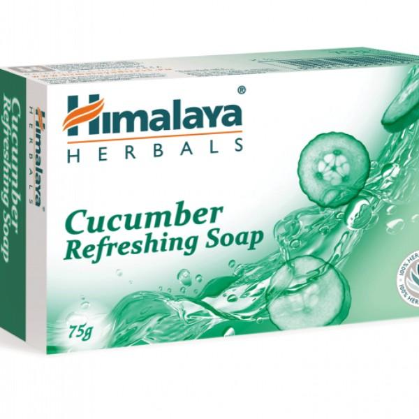 ХИМАЛАЯ Освежаващ сапун с краставица 75 г