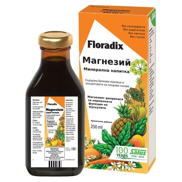 Floradix Магнезий 250ml