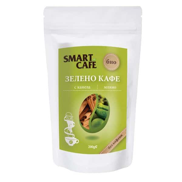 Зелено кафе с канела (без кофеин) 200g