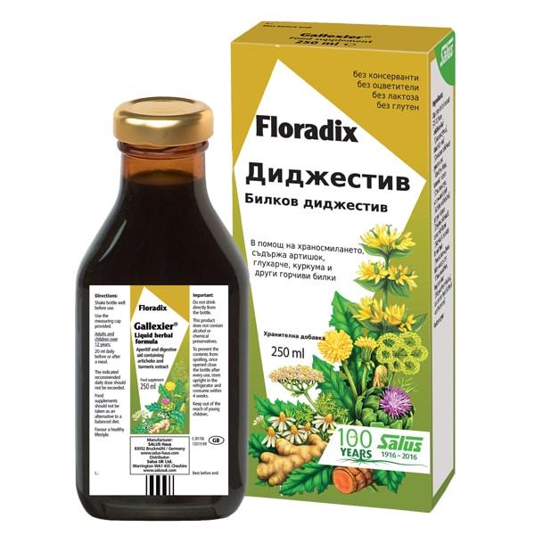 Floradix Диджестив 250ml