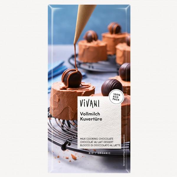 Шоколадов кувертюр млечен 200g
