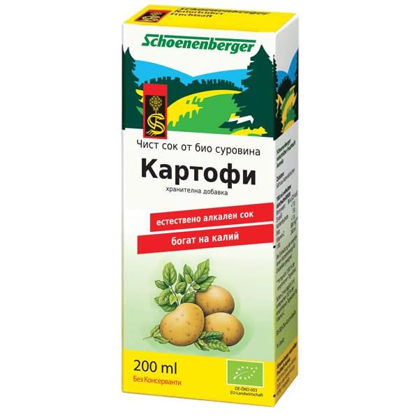 Сок от картофи 200ml