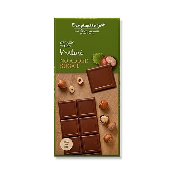 Веган шоколад с лешникова паста 70g