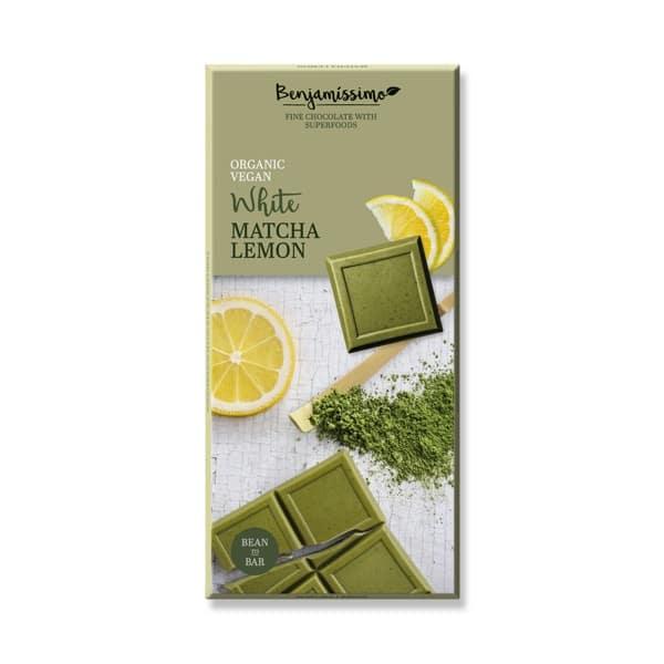 Шоколад Матча и лимон (Бял) 70g