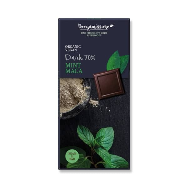Шоколад Мента и мака (Тъмен 70%) 70g