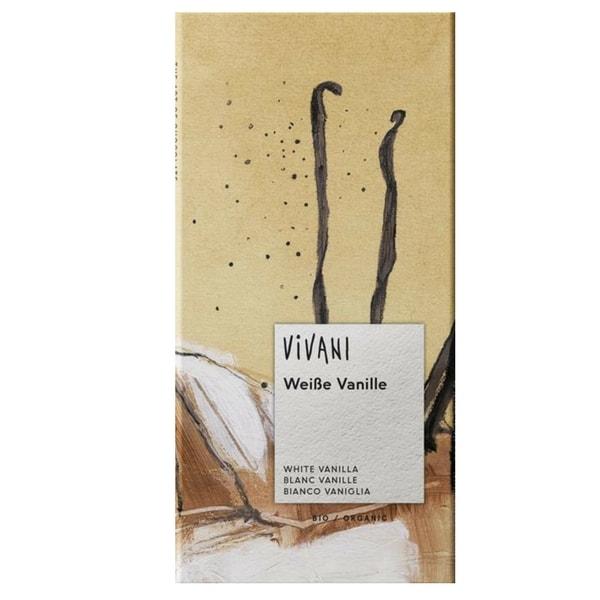 Шоколад бял с ванилия 80g