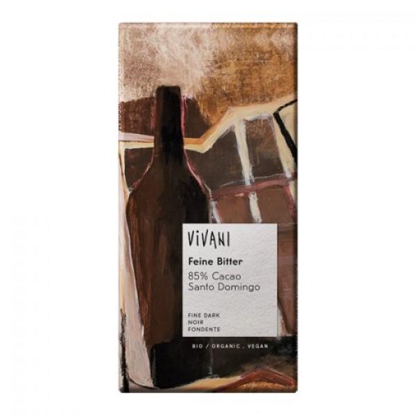 Шоколад фин натурален 85% какао 100g