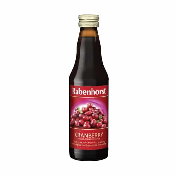 Натурален сок от червена боровинка 330ml