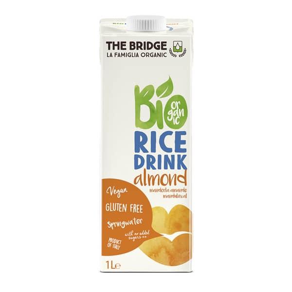 Напитка оризова с бадеми 1L БЕЗ ГЛУТЕН