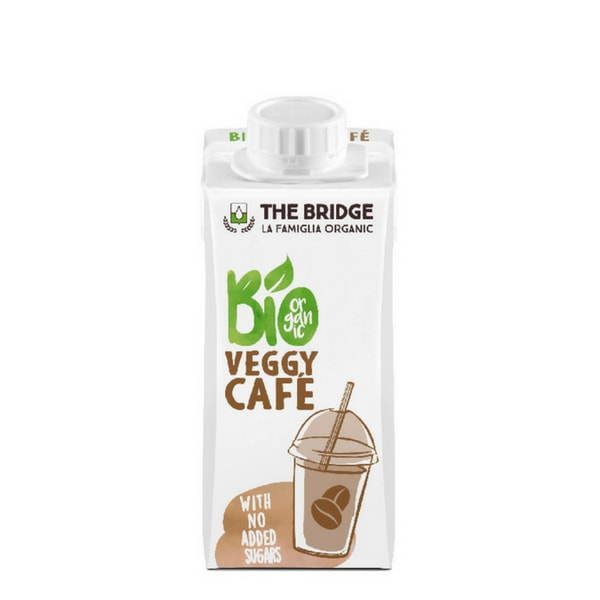 Напитка оризова с бадем и кафе Veggy Cafe 200ml
