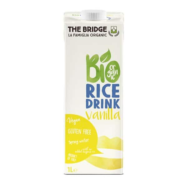 Напитка оризова с ванилия 1L БЕЗ ГЛУТЕН