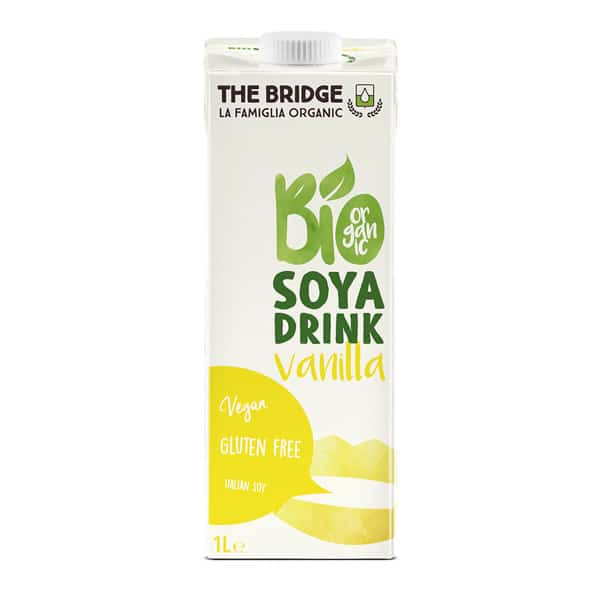 Напитка соева с ванилия 1L