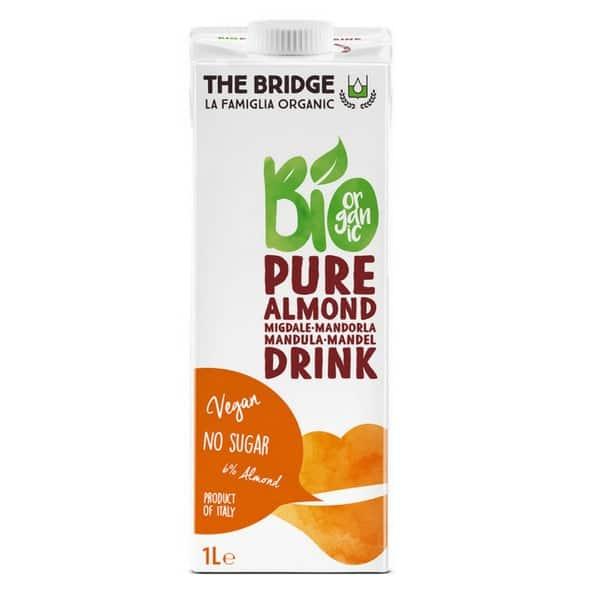 Напитка с бадеми (6%) БЕЗ ГЛУТЕН и БЕЗ ЗАХАР 1L