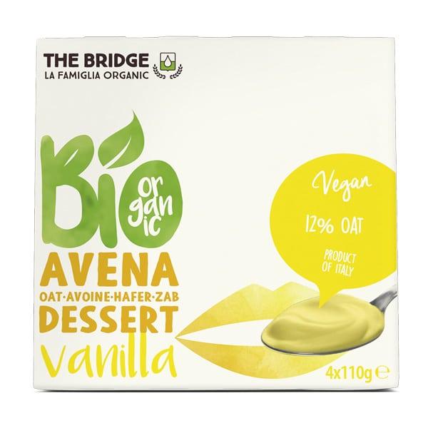 Десерт овесен с ванилия 4х110g