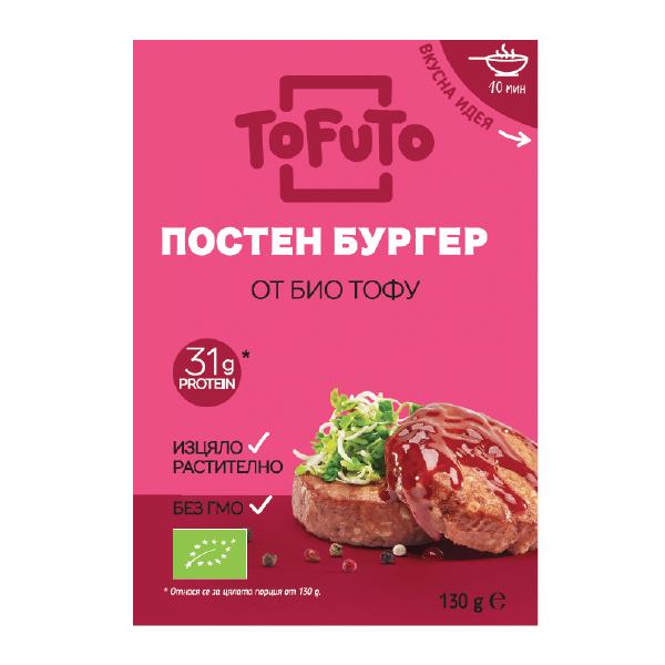 Тофу бургер 130g
