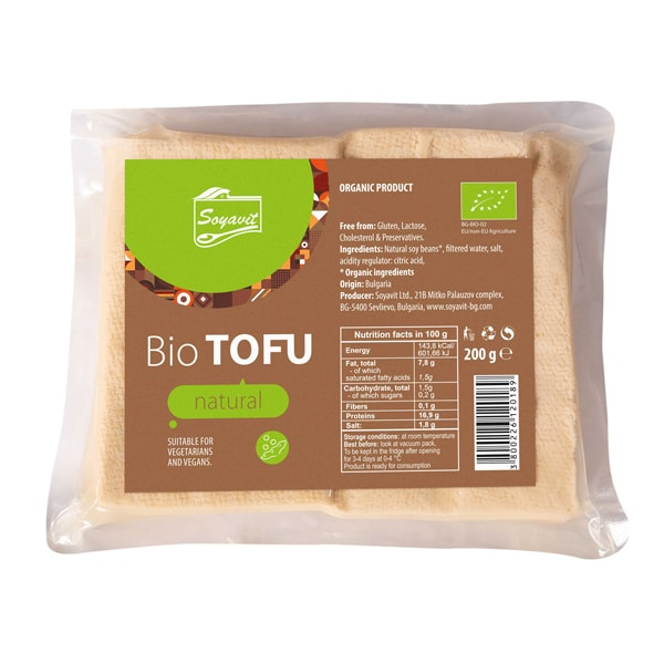 Тофу натурално 200g ВЕГАН