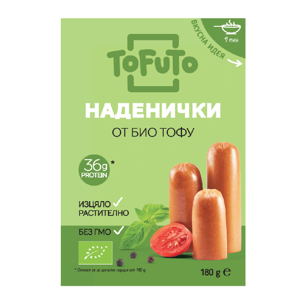 Тофу пушени наденички 180g